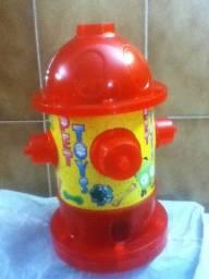 Kit NOVO para cães = hidrante + 7 brinquedinhos