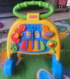 Andador de empurrar fisher-price