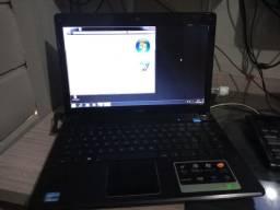 Notebook CCE info Win i5  4Gb ram  500Gb HD