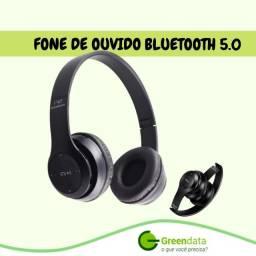 Fone de ouvido sem fio  Bluetooth 5.0 P47