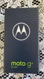 Moto G9 Play, Azul, novo, na caixa, sem uso, com Nota Fiscal!