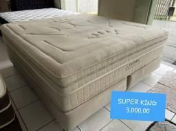 cama box LUXO SUPER KING SIZE MARAVILHOSA