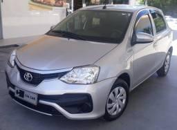 Etios 1.3 25.000km Ú.Dono 5 Pneus Novos Revisado Toyota Completo Melhor q HB20 Financio