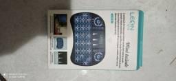 Mini teclado OTG pc monitor TV e Android