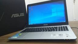 Notebook Asus Geforce 930m 6GB Memória Ram HD1tb 5° X555L