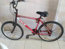 Bicicleta Caloi quadro de alumínio aro 26 21 marchas