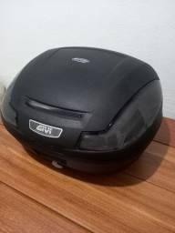 Baú Bauleto Moto Givi E-470nt 47 Litros Fumê 2 Capacetes