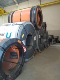Chapas em aço carbono