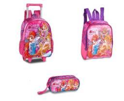 Clio Kit Infantil Winx (Mochila, Lancheira E Estojo)
