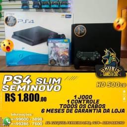 Anubis Games: o poderoso PS4 Slim seminovo de 500 GB a pronta entrega!!!!