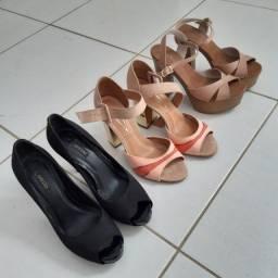 Sapatos (Salto alto) tam. 35