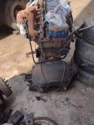 Motor perkins 6cc + caixa 5 marcha