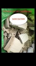 Catalisador usado pó ou peça busco no local