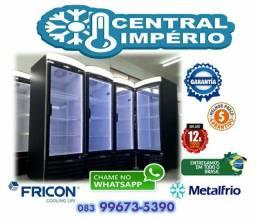 Geladeira - Refrigerador - Freezer MetalFrio Fricon