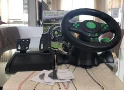 Volante De Vibração Kp-5815a Para Xbox360 Ps3 Ps2 e Pc usb Knup