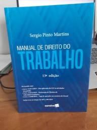 Manual de Direito do Trabalho -13ª Edição - Sergio Pinto Martins