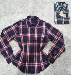 Camisas xadrez M/F