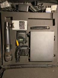 Kit Sennheiser D1 + Transmissor de áudio sem fio Ew300 + Casebag Gavassi