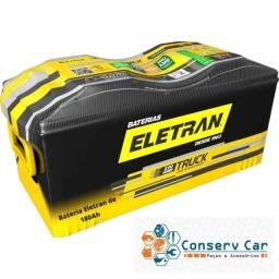 Bateria Eletran de 180Ah livre de Manutenção R$ 750,00
