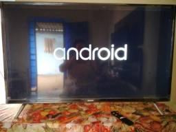 TV smart android 32 polegadas zerada