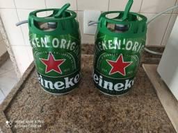 Barril de Heineken vazio