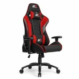 Cadeira DT3 Sports Elise Fabric Red - Loja Fgtec Informática
