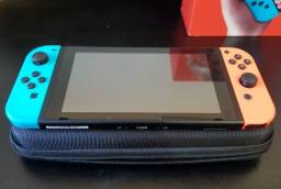 Nintendo Switch  - 03 Controles - 120GB - Perfeito Estado!