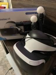 Vendo Kit PlayStation VR Sony + 2 PlayStation Move + Câmera + 3 jogos