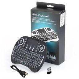 Mini teclado luminoso