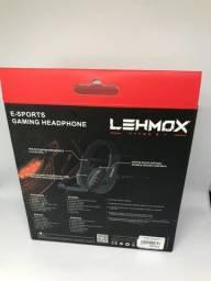 Fone/Microfone Headset Freefire E-sport Gaming Hyper Headphone Lehmox LEF-1020