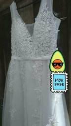 Lindo vestido de noiva (48)998184273