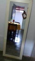 Espelho grande semi novo 80 reais