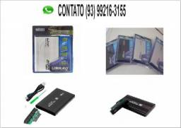 Case p/ Hd Externo Notebook Sata 2.5 Usb