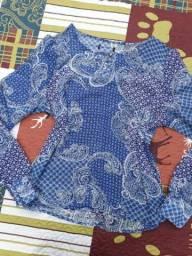 Blusa de chifon