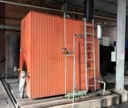 Caldeira à lenha / Gerador de vapor