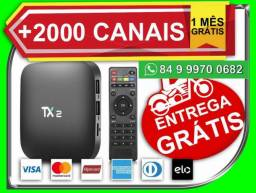 Aparelho Smart Tv Box Tx2 4k 16gb 2gb Ram Bluetooth gratis o motoboy