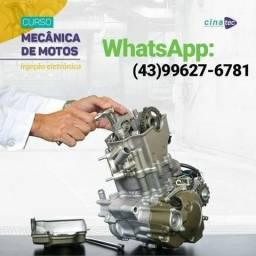 Curso completo de mecânica de moto e injeção eletrônica