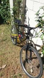 Bicicleta aro 26 amortecedor duplo