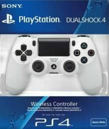 Controle PS4 branco