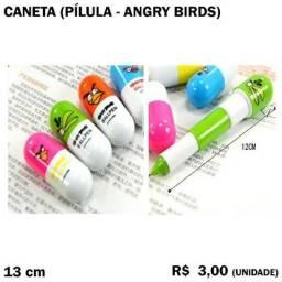 Caneta Pílula Angry Birds