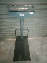 Balança plataforma mecânica capacidade 300 kg - usada