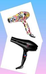 Secador de cabelos MQ Titanium Turbo E Profissional Lizz colors 3800 Ionic 110v