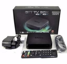 Tv Box Android Smart Tv Quad Core 4k Netflix Youtube