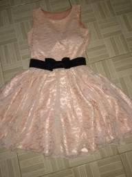 Vestido de festa bonequinha p