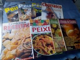 Livros culinária