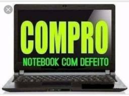 Notebook Com Defeito ou Funcionando Pago 350