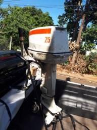 Motor de popa 25 hp Jhonson