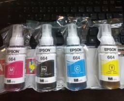 Kit tintas Epson para impressora ecotank