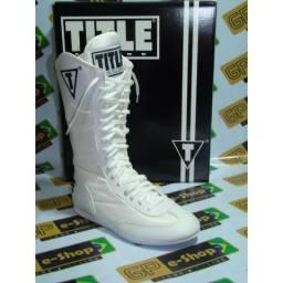 Bota de Boxe Branca Nova N38