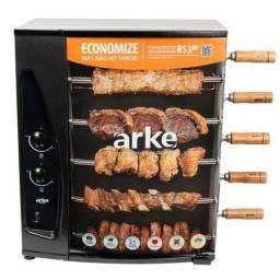 Chuirrasqueira a gás Arke - 5 espetos